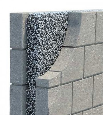 CAVITY WALL INSULATION Cork